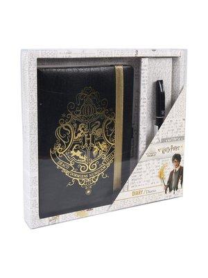 Harry Potter Hogwarts Crest Gift Set Notebook & Pen