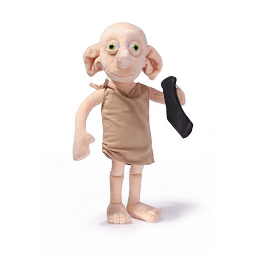 Harry Potter Dobby With Harry's Sock Talking Pluche Noble Collection