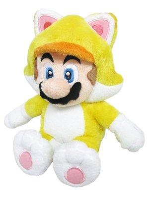 Super Mario Bros Cat Mario Pluche 10inch