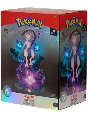 Pokemon Mewtwo Deluxe Illuminated Statue 25cm