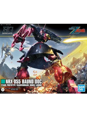 Bandai Gundam HGUC 1/144 NRX-055 Baund Doc Model Kit 235
