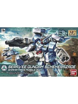 Bandai Gundam HGBD 1/144 Seravee Gundam Scheherazade Model Kit 006
