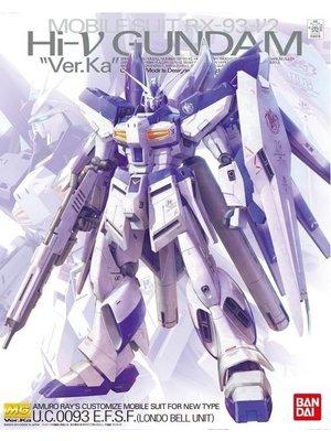 Bandai Gundam MG 1/100 RX-93-v2 Hi-V Gundam Ver.Ka Mobile Suit Model Kit