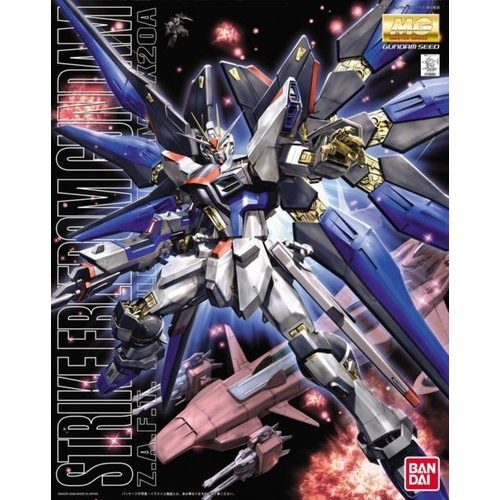 Bandai Gundam MG 1/100 Gundam Seed Strike Freedom Gundam Model Kit 18cm