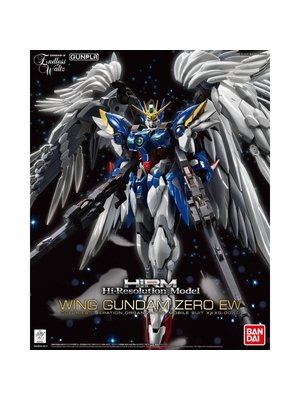 Bandai Gundam Hi-Res 1/100 Wing Gundam Zero EW Model Kit