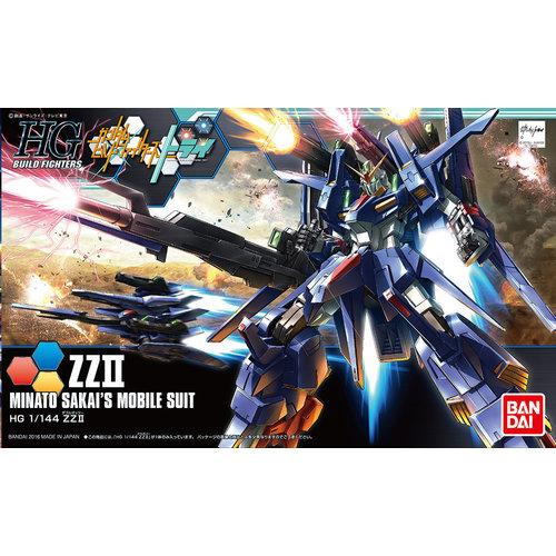 Bandai Gundam HGBF 1/144 ZZII Minato Sakai's Mobile Suit Model Kit 045