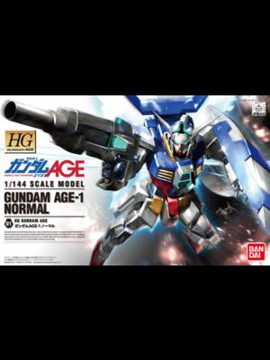Bandai Gundam HG 1/144 Gundam Age-1 Normal Model Kit 01