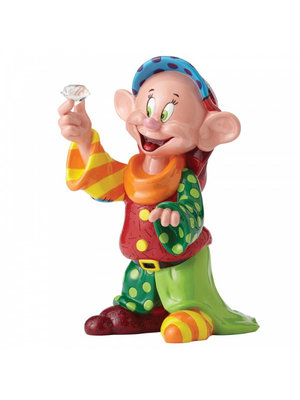 Disney Britto Dopey with Diamond Figurine