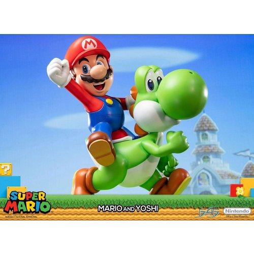 Nintendo Mario & Yoshi Statue 48cm First4Figures