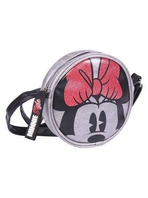 Disney Minnie Mouse Shoulder Bag 18x18x5cm Silver