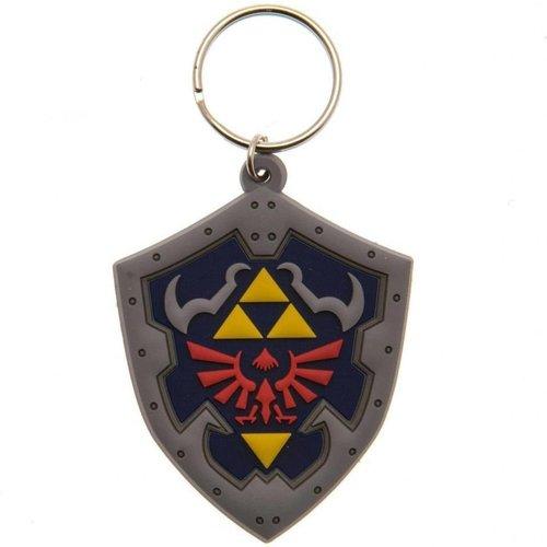 Zelda Hylian Shield Rubber Keychain