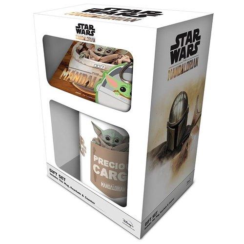 Star Wars The Mandalorian The Child Gift Set Mug / Coaster / Keychain