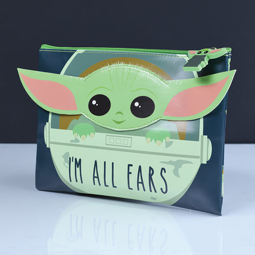 Star Wars The Mandalorian The Child I'm All Ears Pencil Case