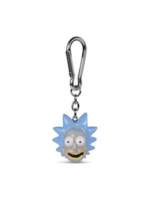 Rick and Morty Rick 3D Keychain