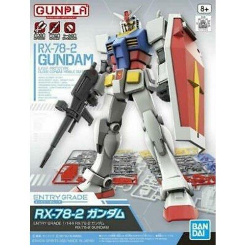 Bandai Gundam EG 1/144 RX-78-2 E.F.S.F. Prototype Close Combat Model Kit 14cm