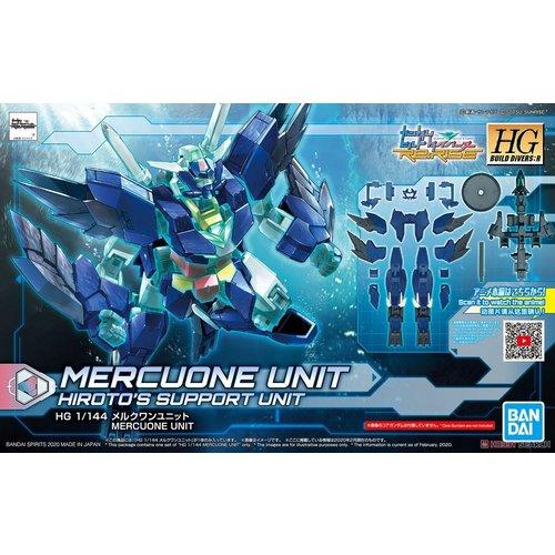 Bandai Gundam HG BD:R 1/144 Mercuone Unit Hiroto's Support Model Kit 017