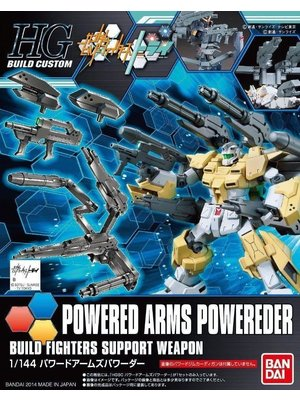 Bandai Gundam HGBC 1/144 Powered Arms Powereder BF Support Weapon Model Kit 014