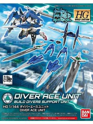 Bandai Gundam HGBC 1/144 Diver Ace Unit BD Support Unit Model Kit 036