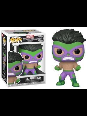 Funko POP! Marvel Lucha Libre 708 El Furioso Figure