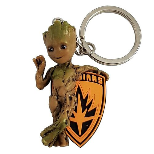 Marvel 3D PVC Baby Groot Keychain