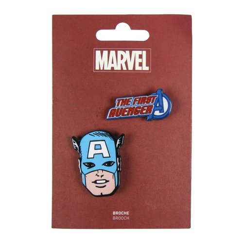 Marvel Captain America Brooches (set of 2)
