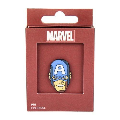 Marvel Captain America Metal Pin
