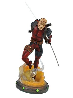 Marvel Gallery Deadpool Unmasked Statue 25cm