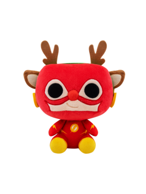Funko Plushies DC Comics Holiday Rudolph Flash Pluche 18cm