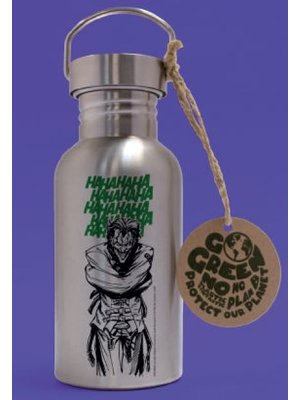 DC Comics Joker Laughs Aluminium Drink Bottle 500ml