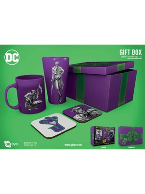DC Comics Joker Gift Box Mug / Glass / 2 Coasters
