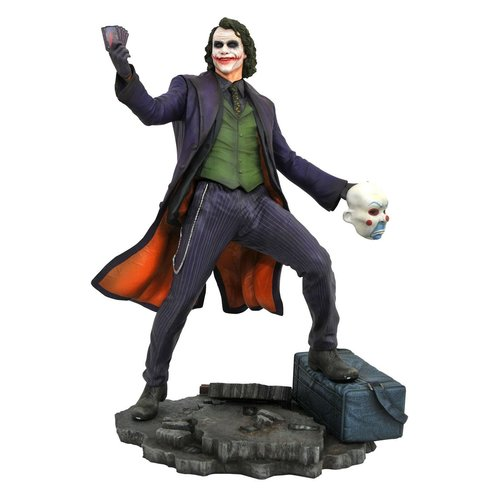 DC Comics Gallery Batman Dark Knight Movie Joker PVC Statue