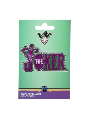 DC Comics The Joker Iron On Patch