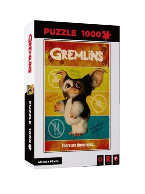 Gremlins There Are Three Rules Puzzle 1000pcs 45x66cm