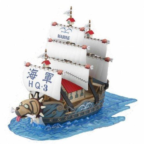 Bandai One Piece Grans Ship Collection Garp's Ship Model Kit 08