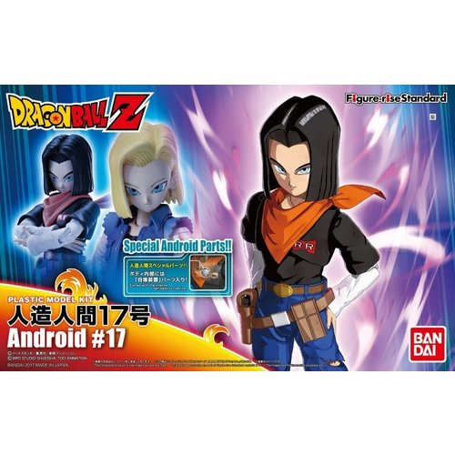 Bandai Dragon Ball Z Figure-Rise Standard Android No. 17 Version 2 Model Kit