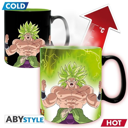 Dragon Ball Super Broly Heat Change Mug 460ml