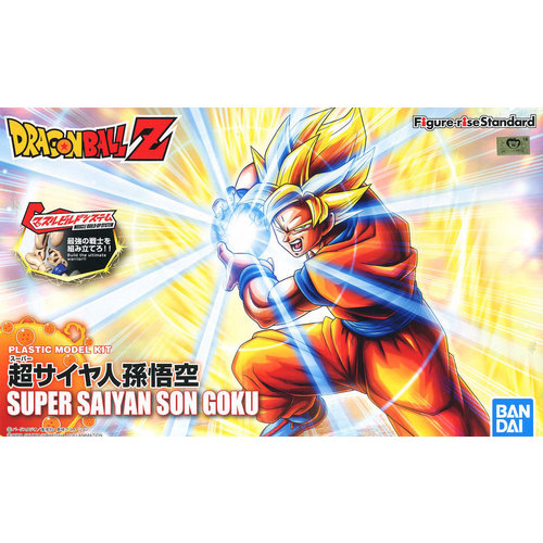 Bandai Dragon Ball Z Figure-Rise Super Saiyan Goku Version 2 Model Kit