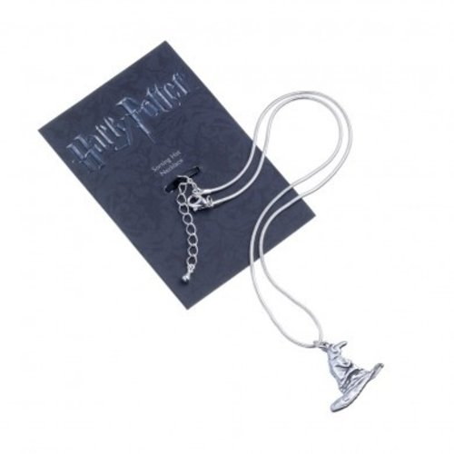 Harry Potter Silver Plated Necklace Sorting Hat