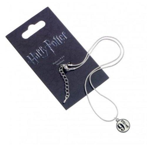 Harry Potter Silver Plated Necklace Platform 9 3/4