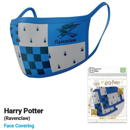 Harry Potter Ravenclaw Premium Face Covers Set of 2