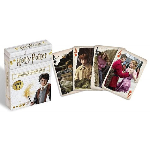 Harry Potter Movie 1-4 Deck Playing Cards