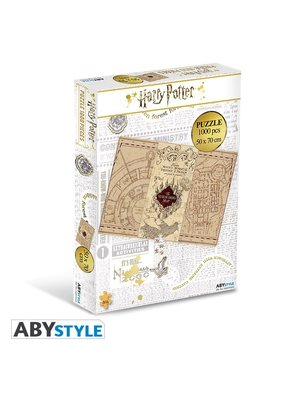 Harry Potter Maraurders Map Jigsaw Puzzle 1000pcs 50x70cm
