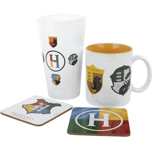 Harry Potter House Pride Gift Box Mug / Glass / 2 Coasters
