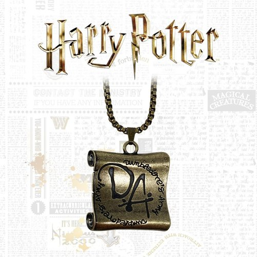 Harry Potter Dumbledore's Army Necklace