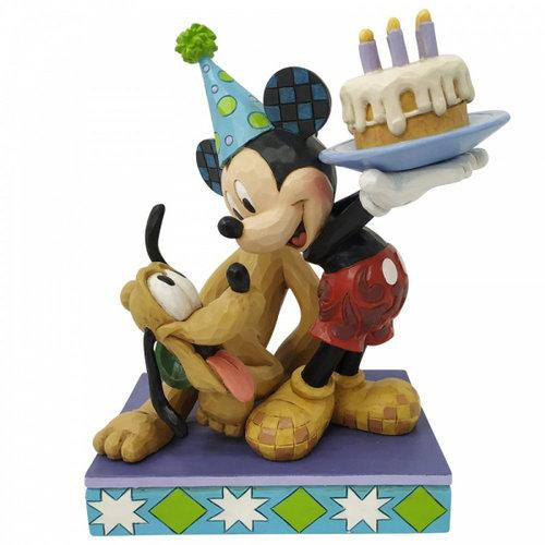 Disney Traditions Disney Traditions Pluto and Mickey Birthday Figurine