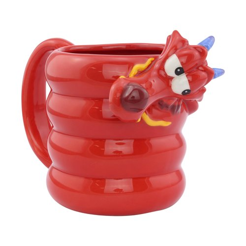 Disney Mulan Mushu Shaped 3D Mug