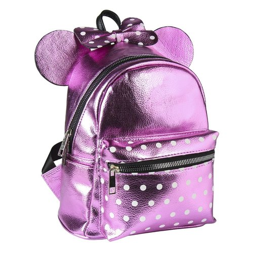 Disney Minnie Mouse Backpack Pink 22x22x11cm