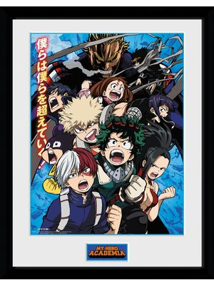 My Hero Academia Season 2 Framed Collector Print 30x40