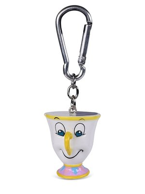 Disney Beauty and the Beast Chip 3D Keychain