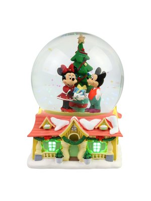 Disney Mickey and Minnie Waterball with Light